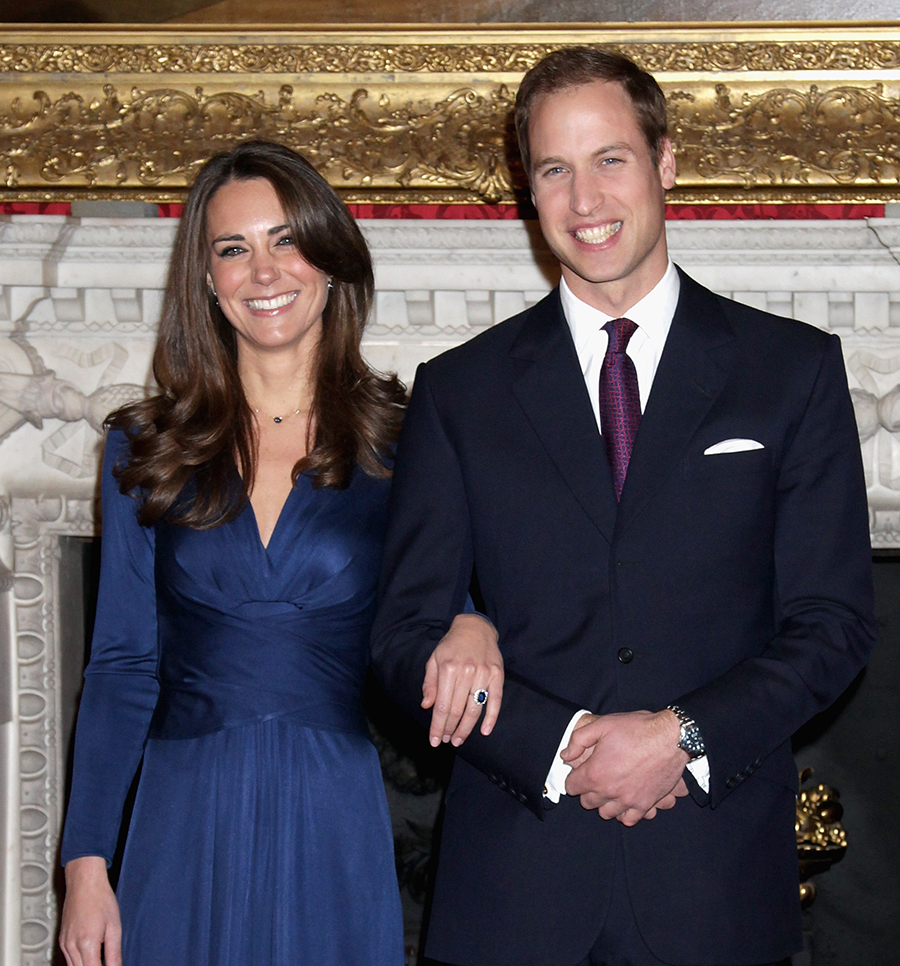 "Prince William and Kate Celebrate 10th Anniversary of Their Engagement as  Their Ring Gets a Starring Role in ""The Crown"" - Everything Zoomer"