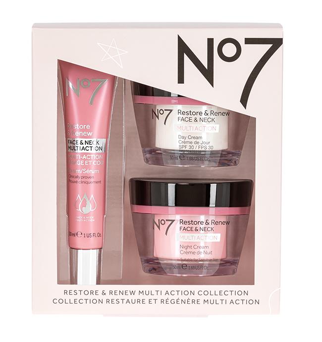 No7 Restore & Renew Multi Action Collection