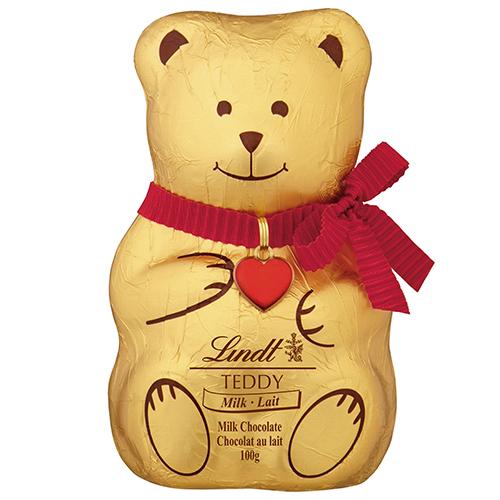 Lindt Mild Chocolate Teddy Bear