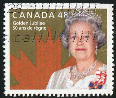 Queen Elizabeth stamp