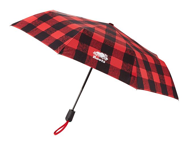 Roots Plaid Umbrella