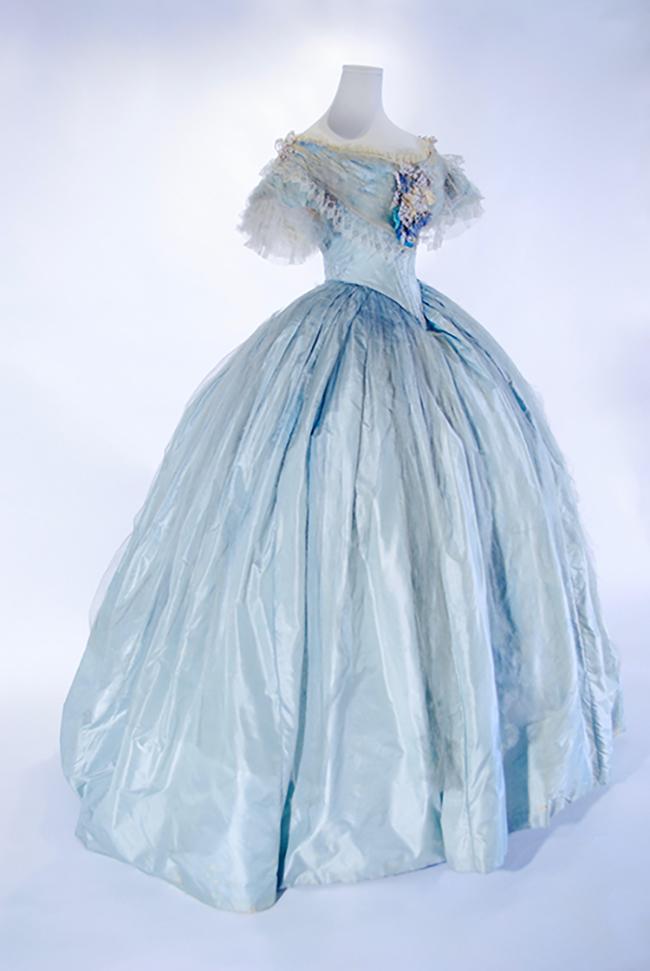 Susan Paul's gown