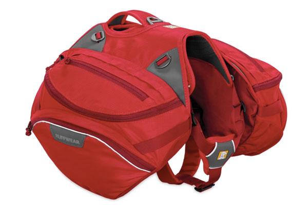 Red dog backpack