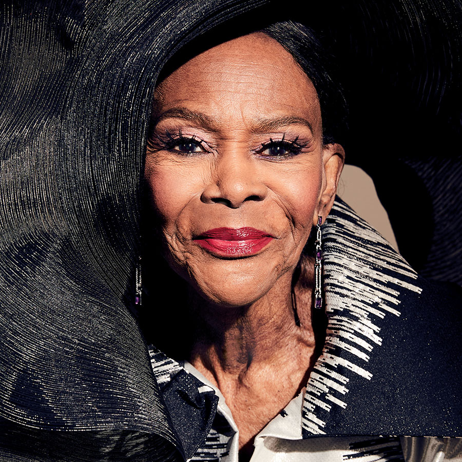 Portrait of Cicely Tyson photographed by Gabor Jurina exclusively for Zoomer magazine.