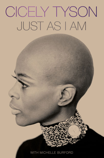 Book cover, Cicely Tyson, Just As I Am.