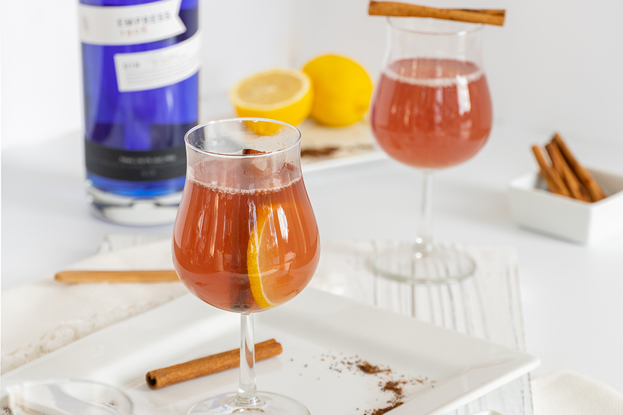 Hot Toddy gin cocktail