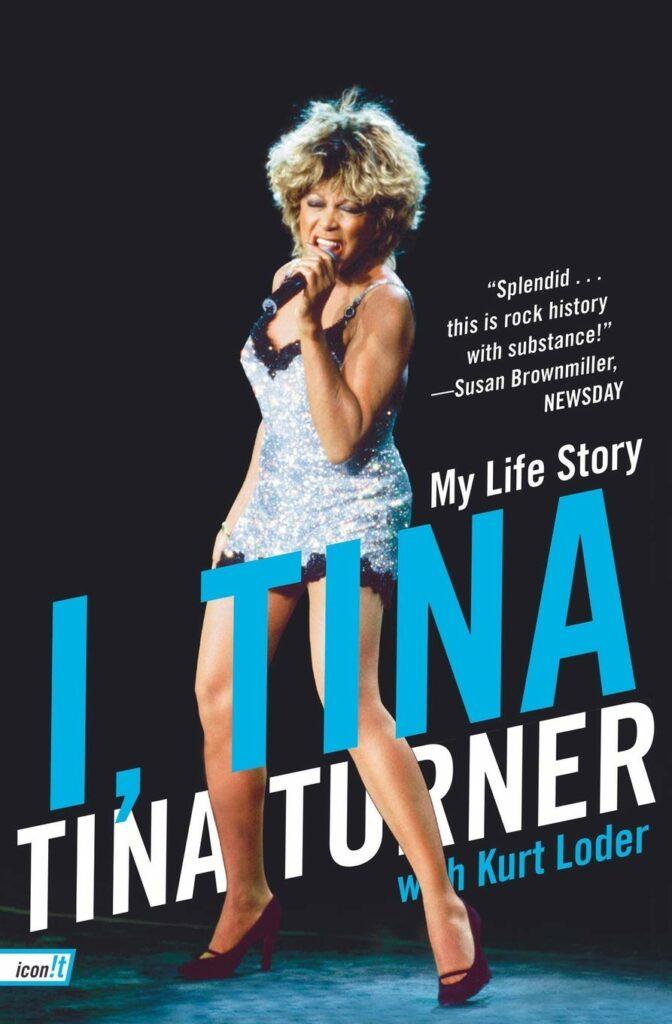 Book cover, I, Tina