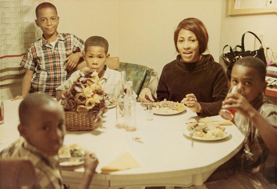 Tina Turner and her children