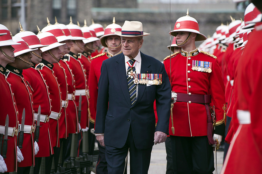 Top Four | Prince Philip | Canada