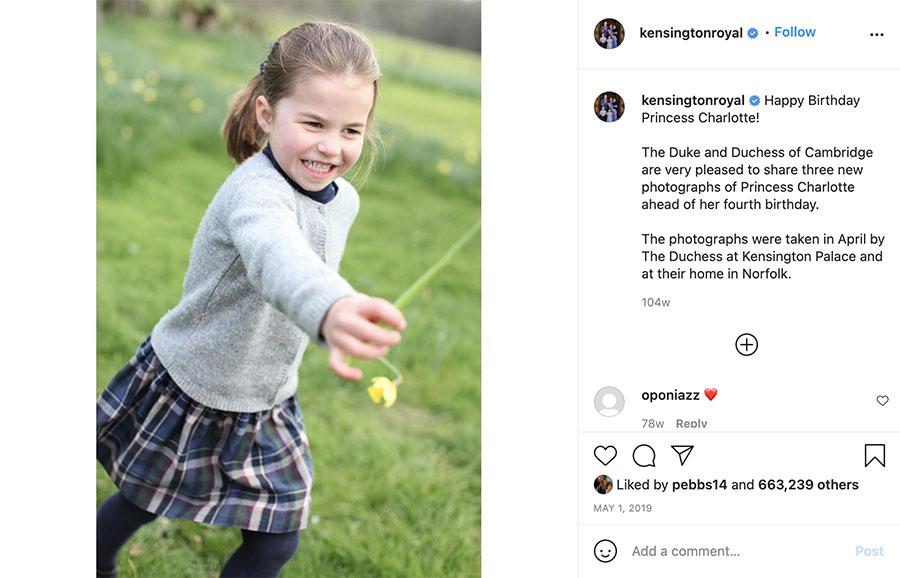Royals: Charlotte's 6th birthday
