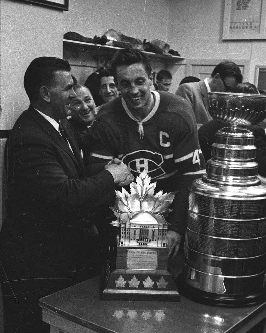 The Canadiens and the Maple Leafs