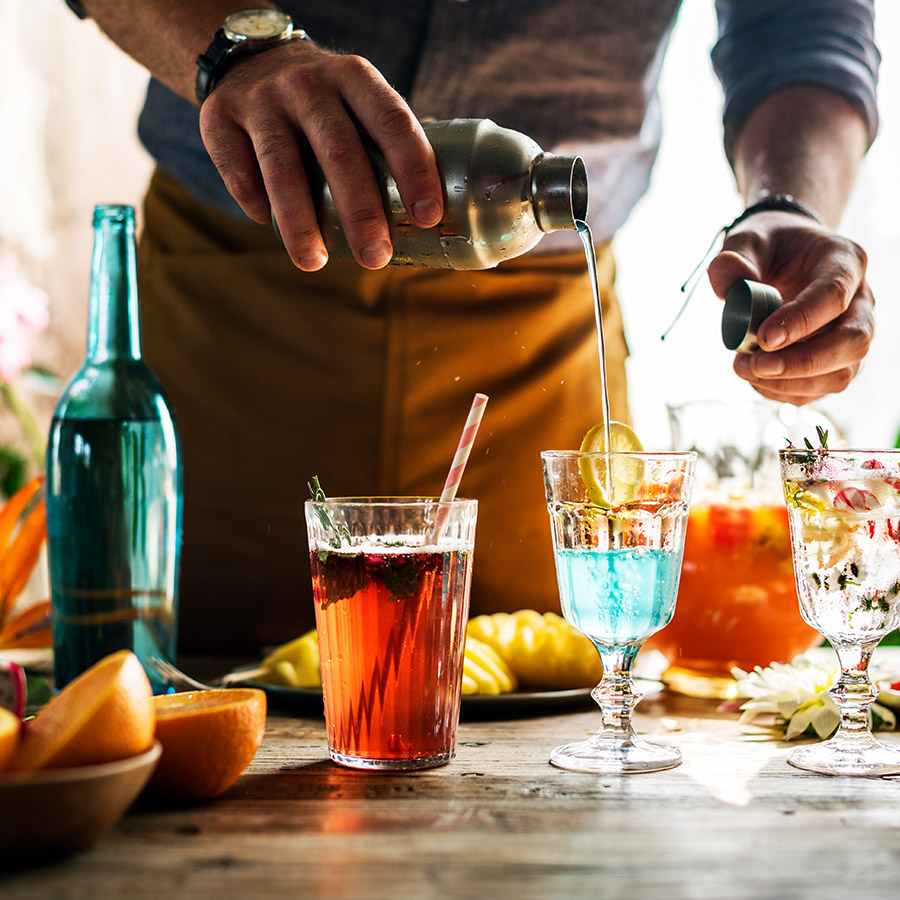 Cocktails from around the Globe