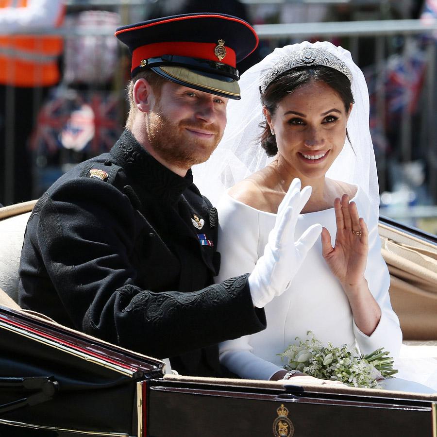 Meg and Harry wedding anniversary