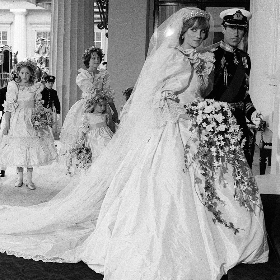 Diana's Wedding Dress