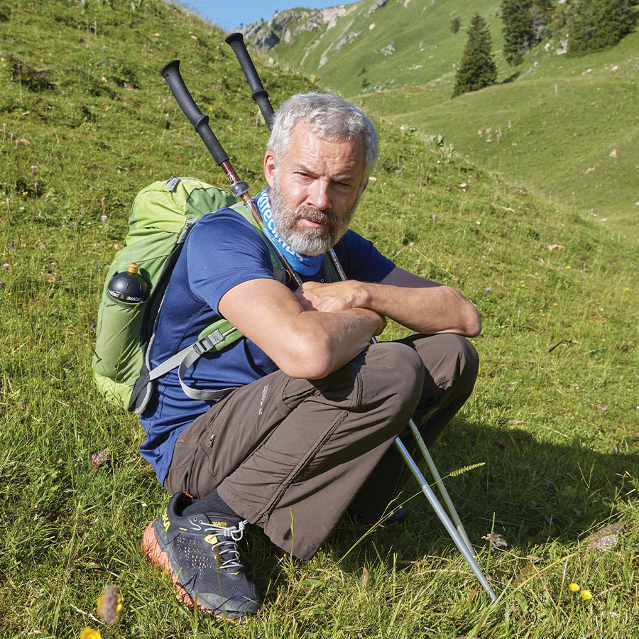 Swiss Hiker