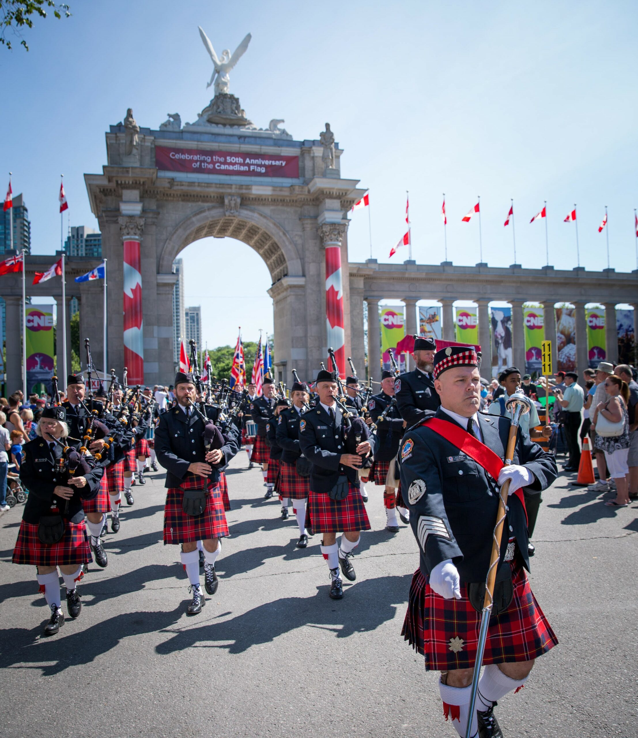 Toronto Fire Services Pipes and Drums
