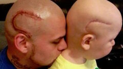 Matching Head Tattoo
