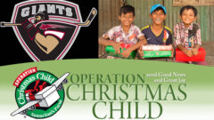 Vancouver Giants Operation Christmas Child 2017 Toy Driive