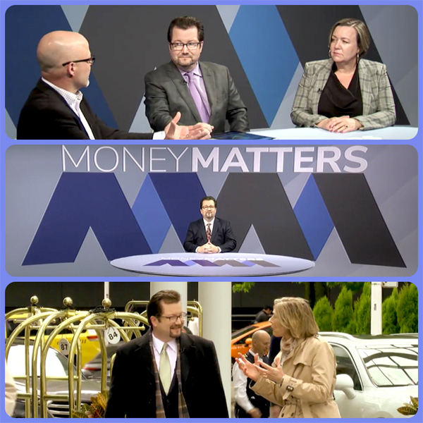 Money Matters with Jim Doyle - Launch Promo Collage
