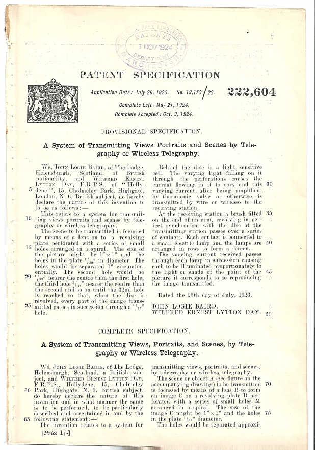 JLB TV Patent Pg1