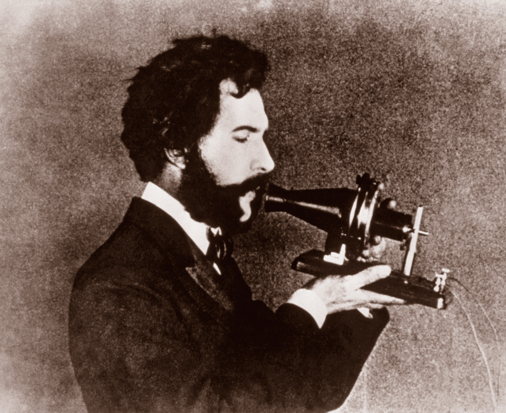 Bell Receives Telephone Patent