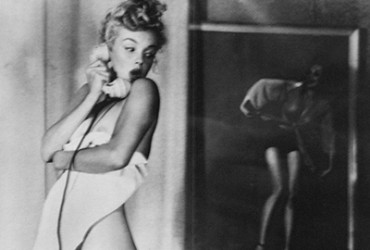 Earl Moran's Vision of Marilyn Monroe With Nothing On But The TV
