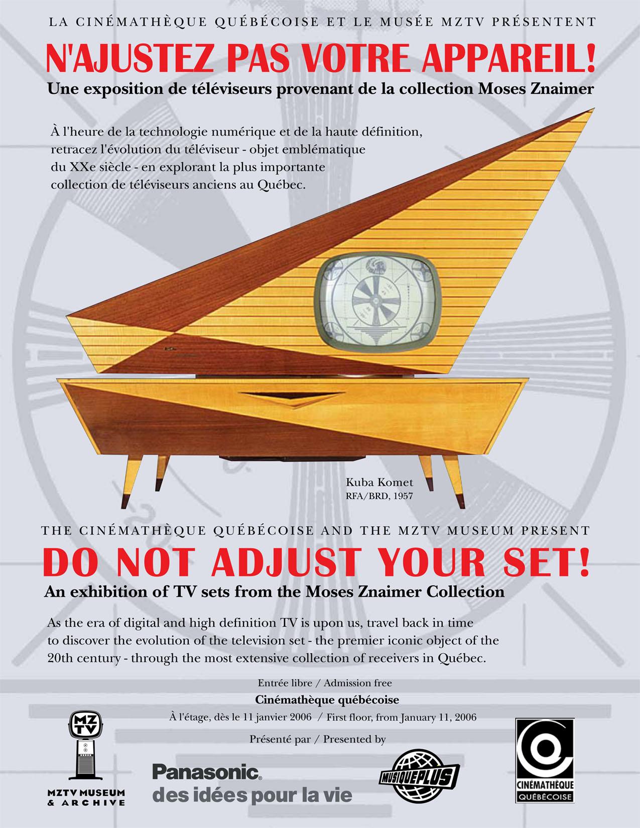 Do Not Adjust Your Set!
