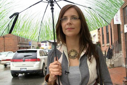 Adria Vasil, author and organics advocate