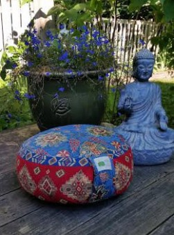 Healing Yoga Anniversary Contest: Mindful Cushion by Patti Moses