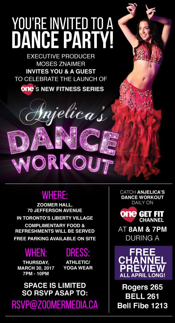Anjelica's Dance Workout - Season 1