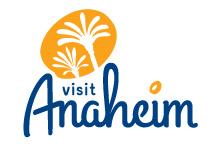 Wake Up, Watch One To Win Contest - Visit Anaheim Logo