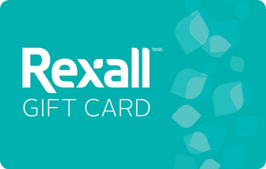 Get Fit at Home Contest - Rexall Reloadable Gift Card
