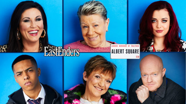 EastEnders 2018 - Character Collage