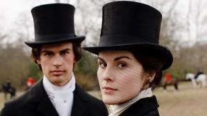 Downton Abbey S1E3: Mary Crawley (MICHELLE DOCKERY), Kamal Pamuk (THEO JAMES)