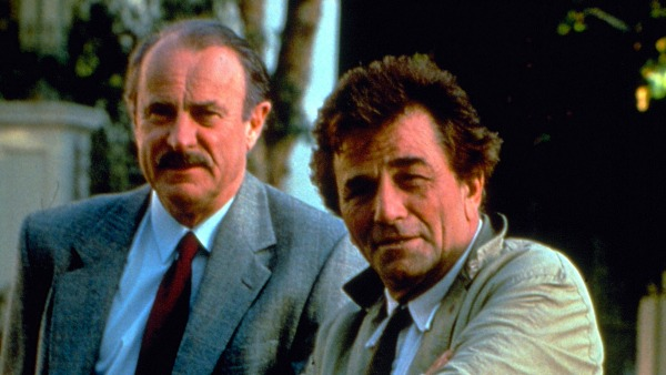 Dabney Coleman and Peter Falk star in Columbo: Murder of a Rock Star