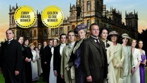 The cast of the Emmy and Golden Globe Award winning Downton Abbey