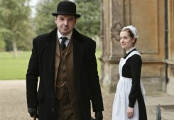 Brendan Coyle as Mr. Bates and Joanne Froggatt as Anna Smith in Downton Abbey