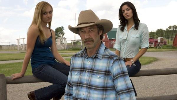 Amber Marshall, Shaun Johnston and Michelle Morgan star in Heartland