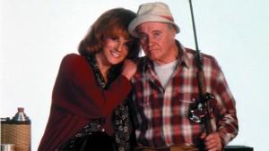 "Ann-Margret and Jack Lemmon star in ""Grumpier Old Men"""