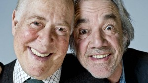 The Old Guys: Clive Swift as Roy and Roger Lloyd Pack as Tom - photo by Alan Peebles