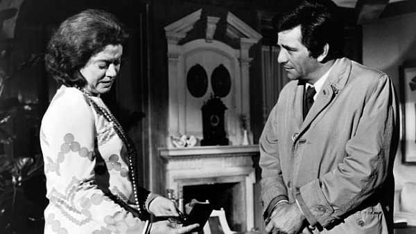 Kate Reid and Peter Falk star in Columbo: Dead Weight