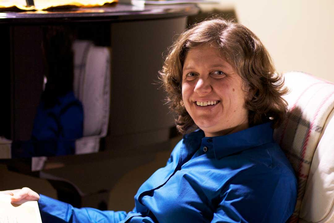 IP: Hildegard - Jennifer Bain, chair of the Department of Music at Dalhousie University