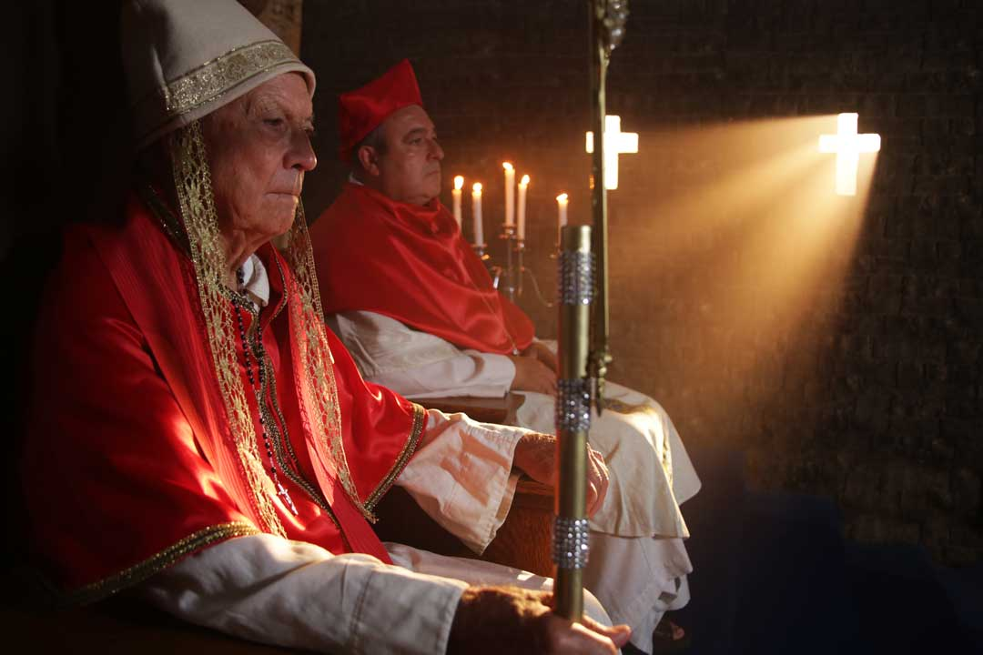 IP: Prophesy of the Popes Pope Innocent II refuses Malachy's request to become Archbishop of all Ireland, and sends him home.  Photo: Steven J. Allen