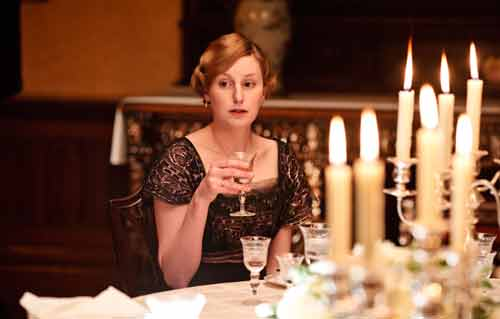 Downton Abbey S2: Lady Edith Crawley (Laura Carmichael)