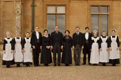 Downton Abbey: the household staff