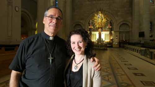 SI: Miracles - Investigator Lauretta Ryan with Father Guy Desrochers