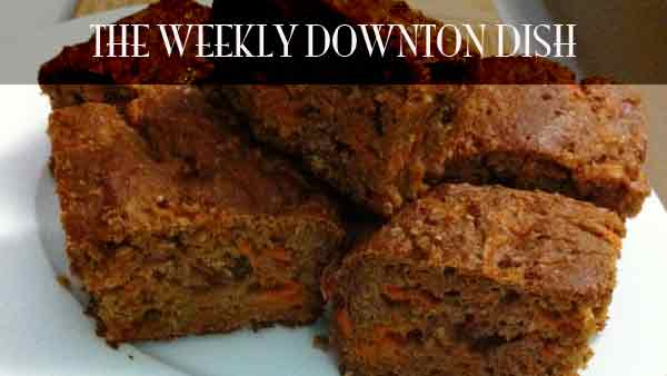 The Weekly Downton Dish: Tea Manners Matter: Guilt Free Carrot Cake - by Pamela Foster, DowntonAbbeyCooks.com