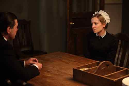 Downton Abbey S1E6: Anna talks with Bates