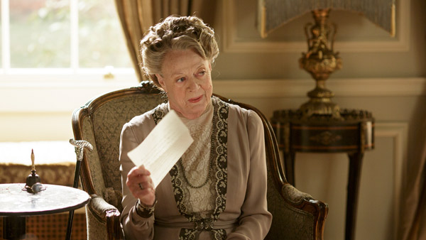 Downton Abbey S6E5: Lady Violet, Dowager Countess of Grantham (MAGGIE SMITH)