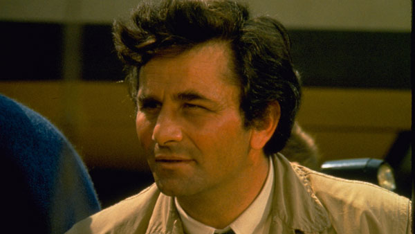 Peter Falk stars in Columbo: Candidate for Crime